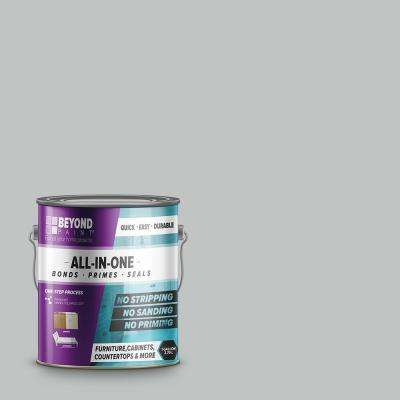 1 gal. Soft Gray Furniture, Cabinets, Countertops and More Multi-Surface All-in-One Interior/Exterior Refinishing Paint