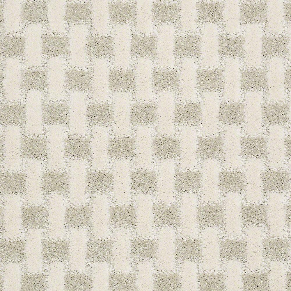 Carpet Sample - King's Cross - In Color Cauliflower 8 in. x 8 in.