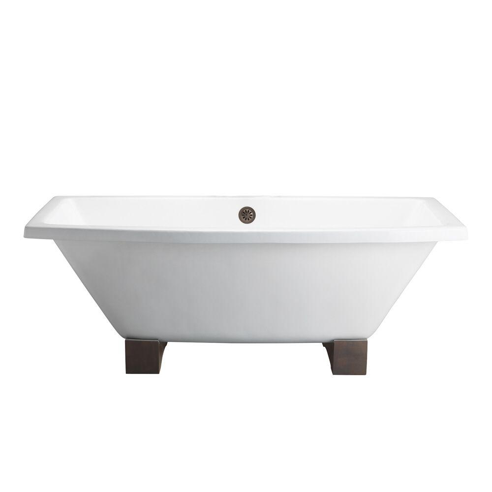 white barclay products clawfoot bathtubs ctsqh67 wh 64 1000 89109