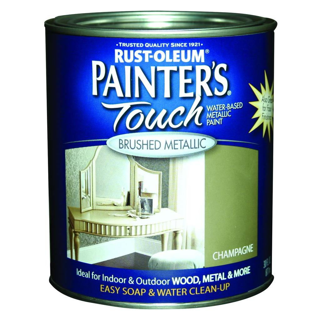 Rust-Oleum Painter's Touch 32 oz. Ultra Cover Metallic Champagne General Purpose Paint (Case of 2)