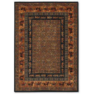Old World Classics Pazyrk Burnished Rust 10 ft. x 14 ft. Area Rug