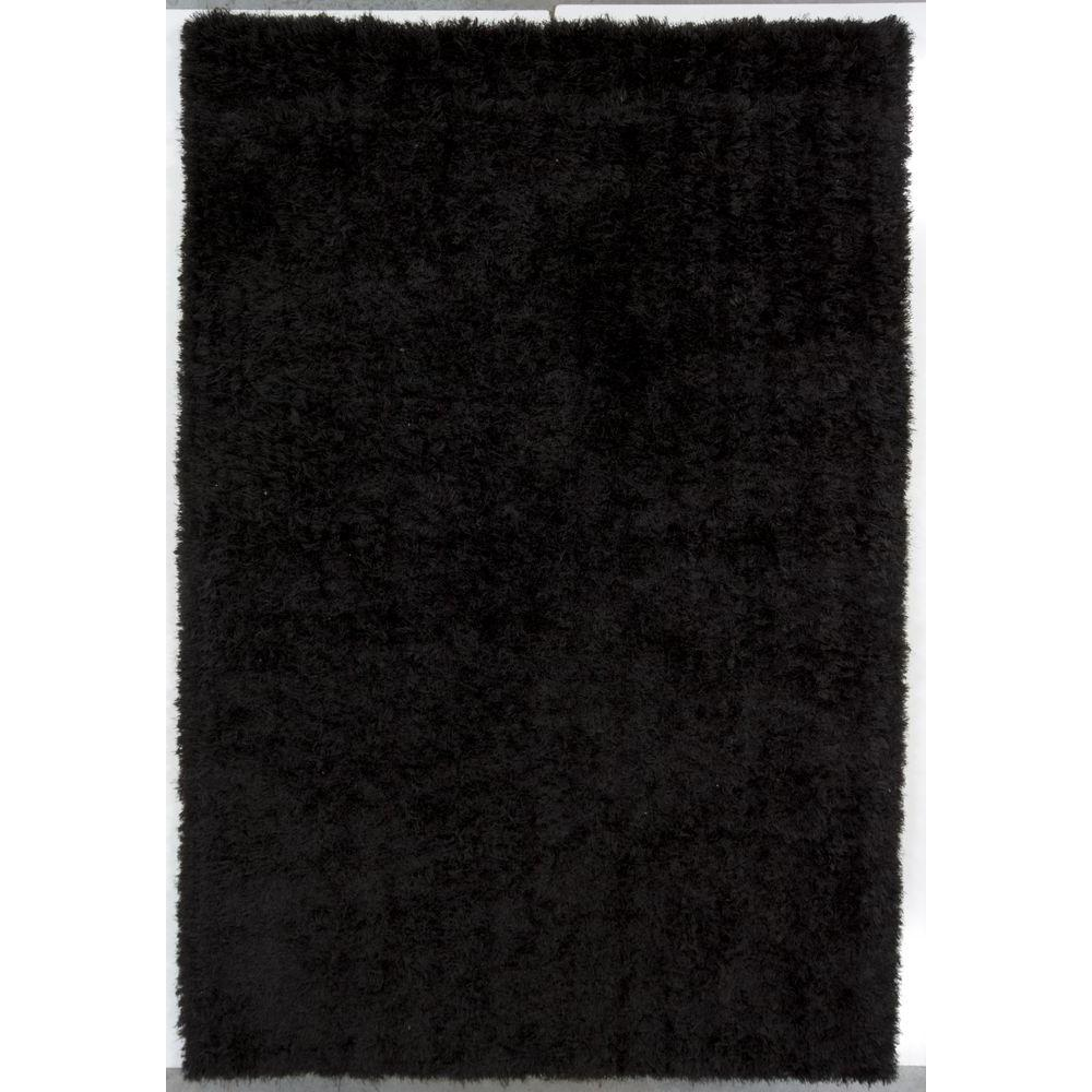 Chandra Oyster Black 7 ft. 9 in. x 10 ft. 6 in. Indoor Area Rug