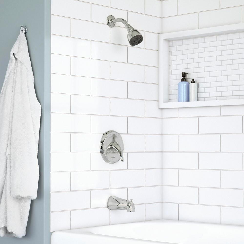 7 diy practical and decorative bathroom ideas.htm glacier bay aragon single handle 1 spray tub and shower faucet in  spray tub and shower faucet