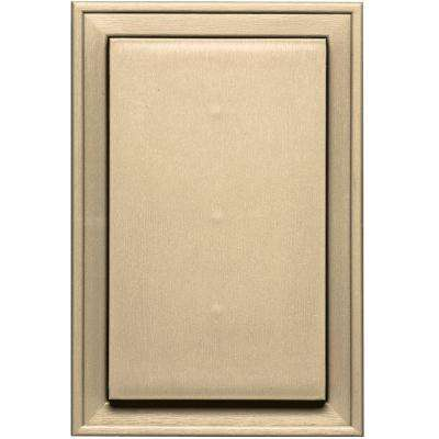 8.125 in. x 12 in. #012 Dark Almond Jumbo Mounting Block