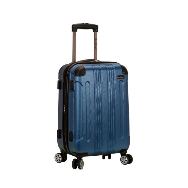 Expandable Sonic 20 in. Hardside Spinner Carry On Luggage, Blue
