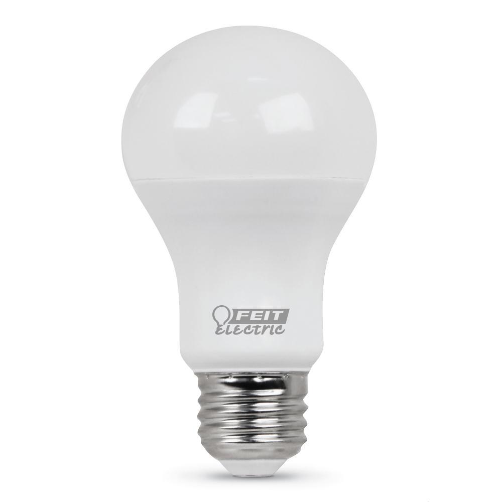 60-Watt Equivalent Daylight A19 LED Medium Base Light Bulb (Case of 24)