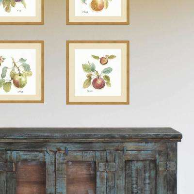 21 in. x 21 in. 'Orchard Bloom IV' by Lisa Audit Fine Art Paper Print Framed with Glass Wall Art