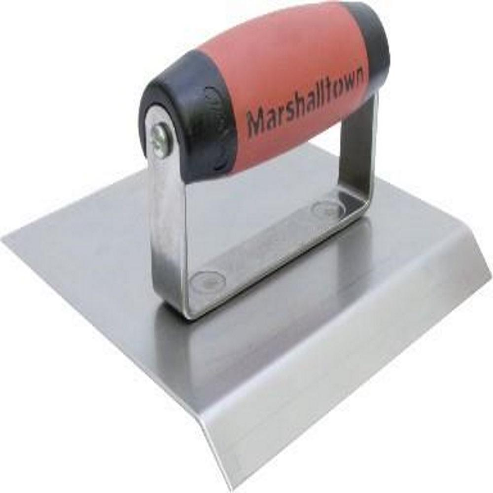 marshalltown 6 in x 6 in stainless steel chamfer edger 1