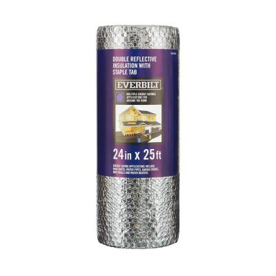 MBBM 24 in. x 25 ft. Double Reflective Insulation Staple Tab