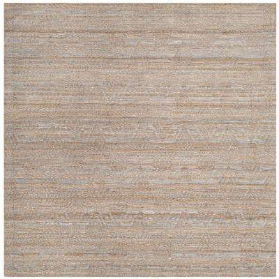 Cape Cod Gray/Sand 6 ft. x 6 ft. Square Area Rug