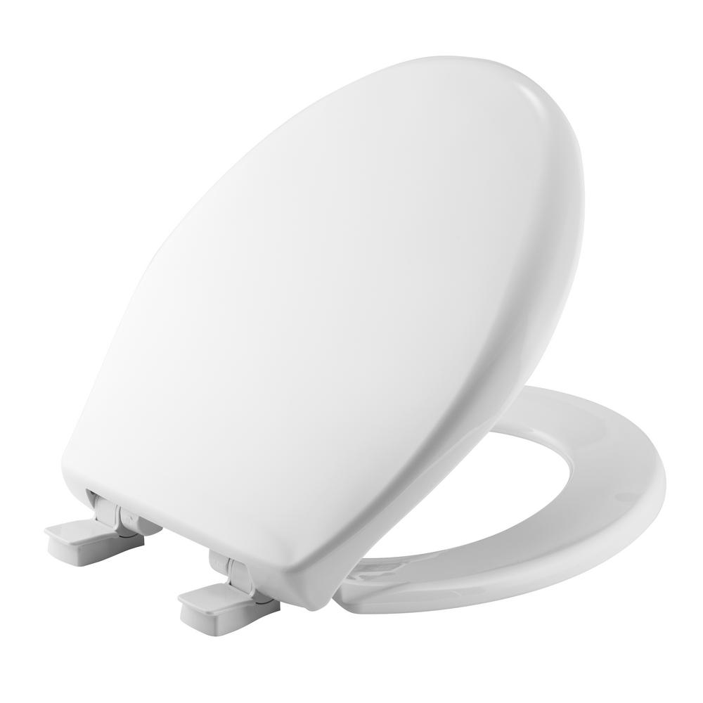 Affinity Round Closed Front Toilet Seat in White