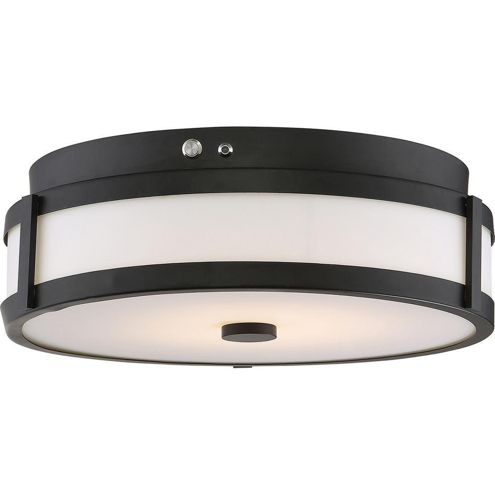 20-Watt Aged Bronze Integrated LED Emergency Light