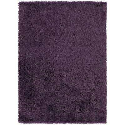 Volker Eggplant 5 ft. x 7 ft. Indoor Area Rug