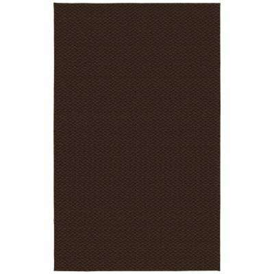 Medallion Chocolate 6 ft. x 9 ft. Area Rug