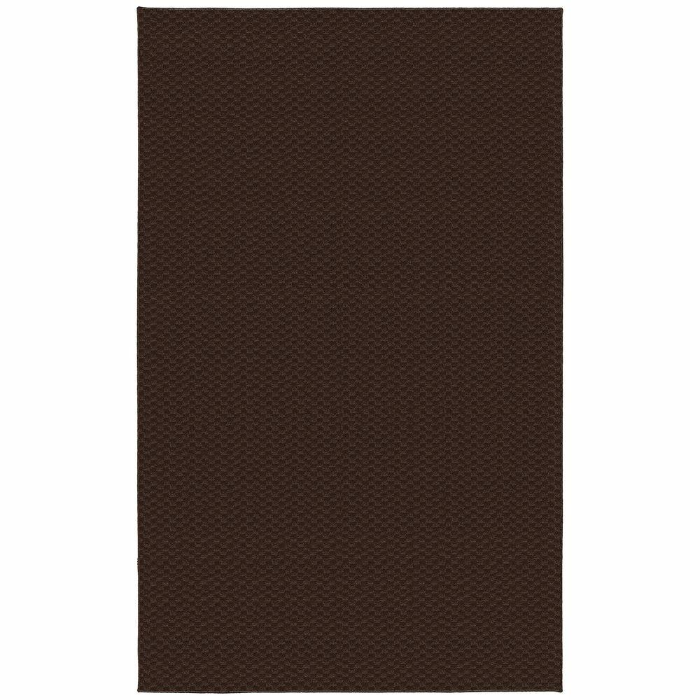 Garland Rug Medallion Chocolate 9 Ft X 12 Ft Area Rug Ma 00 0n 0912 46 The Home Depot
