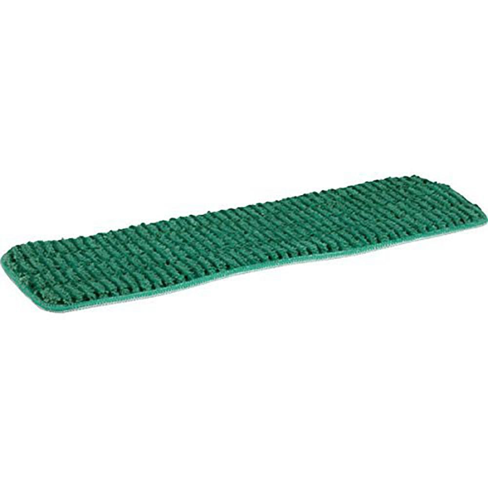 18 in. Green Microfiber Wet Mop Scrubbing Pad (3-Pack)