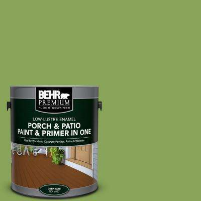 1 gal. #P370-6 Salamander Low-Lustre Interior/Exterior Paint and Primer In One Porch and Patio Floor Paint