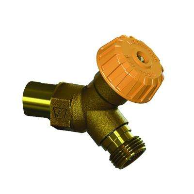 1/2 in. x 1/2 in. FPT x Copper Sweat Mild Climate Brass Wall Hydrant
