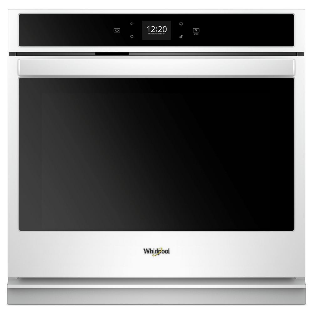 Whirlpool 27 In. Single Electric Wall Oven In White
