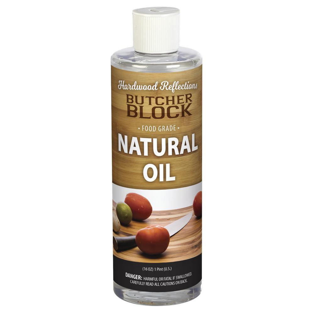 HARDWOOD REFLECTIONS 1 pt. Butcher Block Mineral Oil