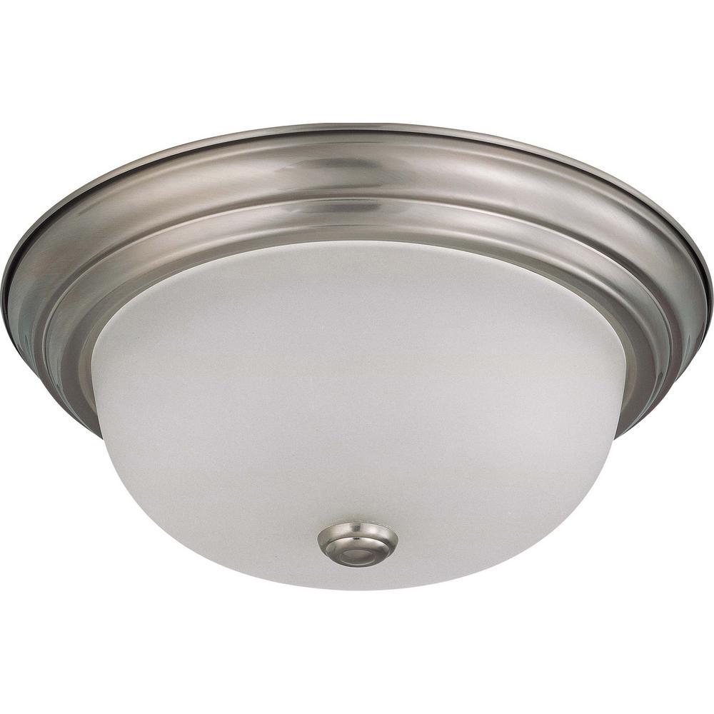 Light Flush Mount Brushed Nickel
