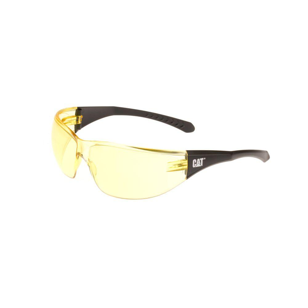 Safety Glasses Mortar Yellow Lens with Case