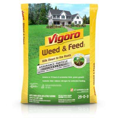 Weed and Feed Fertilizer