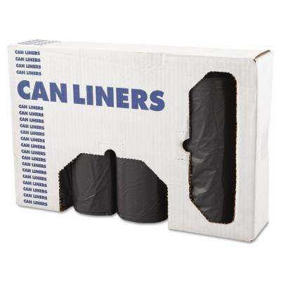 XX-Heavy-Grade Can Liners 43 in. x 47 in. 56 Gal. 1.1 mil in Gray (25 Bags/Roll 4-Rolls/Carton)
