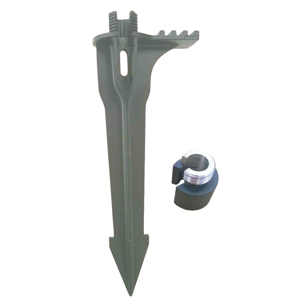 Black Replacement Stake with Adapter
