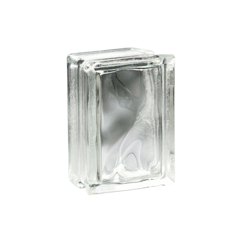 Pittsburgh Corning 6 in. x 8 in. x 4 in. Decora Arque Glass Block (4-Case)