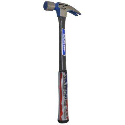 20 oz. Milled Face Fiberglass Rip Hammer, 16 in. fiberglass handle