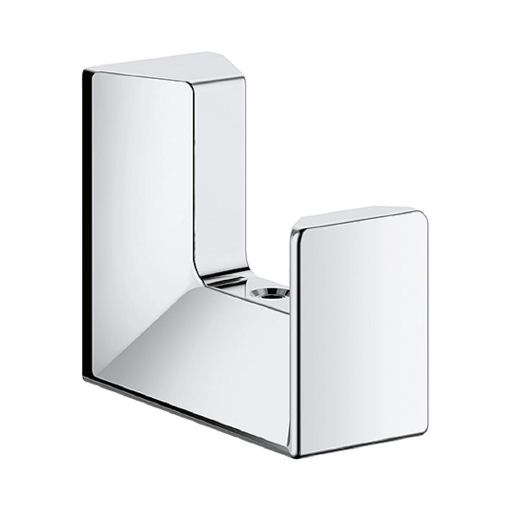 Grohe Selection Cube Wall Mount Robe Hook In Starlight