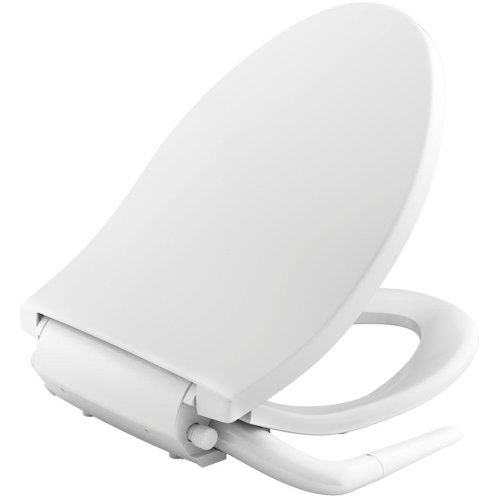 KOHLER Puretide NonElectric Bidet Seat for Elongated Toilets in