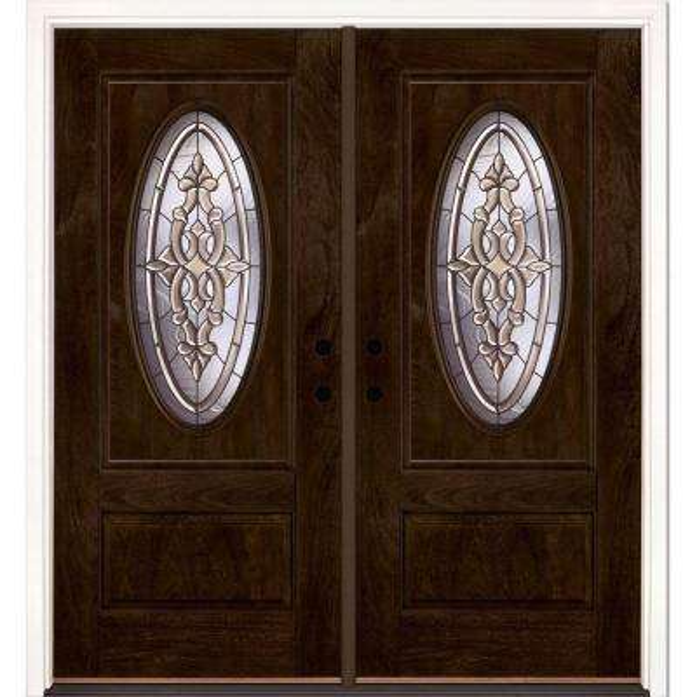 74 ... & Mahogany - Front Doors - Exterior Doors - The Home Depot Pezcame.Com