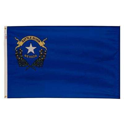 3 ft. x 5 ft. Nylon Nevada State Flag