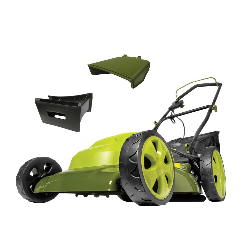 Sun Joe® 20-Inch Corded Electric Lawn Mower in Green