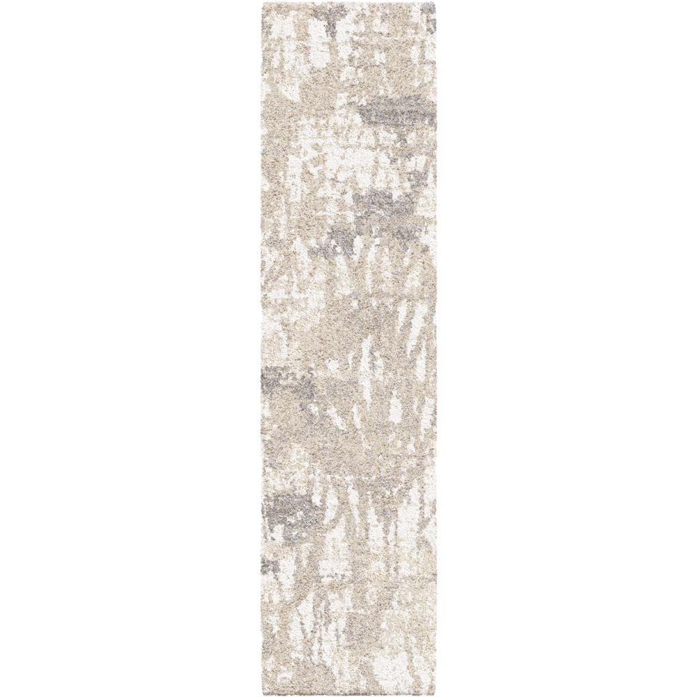Orian Rugs Abstract Canopy Ivory 2 ft. x 8 ft. Runner Rug