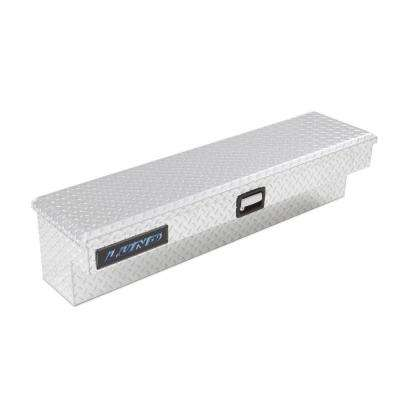 48 in. Full or Mid Size Full Lid Aluminum Side Bin Truck Tool Box