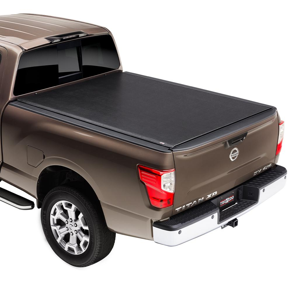 Truxedo Lo Pro Tonneau Cover 00 04 Nissan Frontier Crew Cab 4 Ft 8 In Bed 592101 The Home Depot