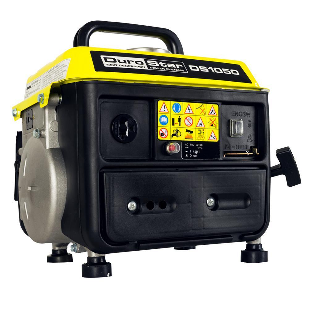 Durostar 950-Watt Gas Powered Recoil Start Portable CARB Approved Generator by Durostar