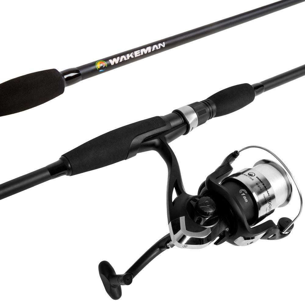 Swarm Series Spincast Rod and Reel Combo in Blue Metallic