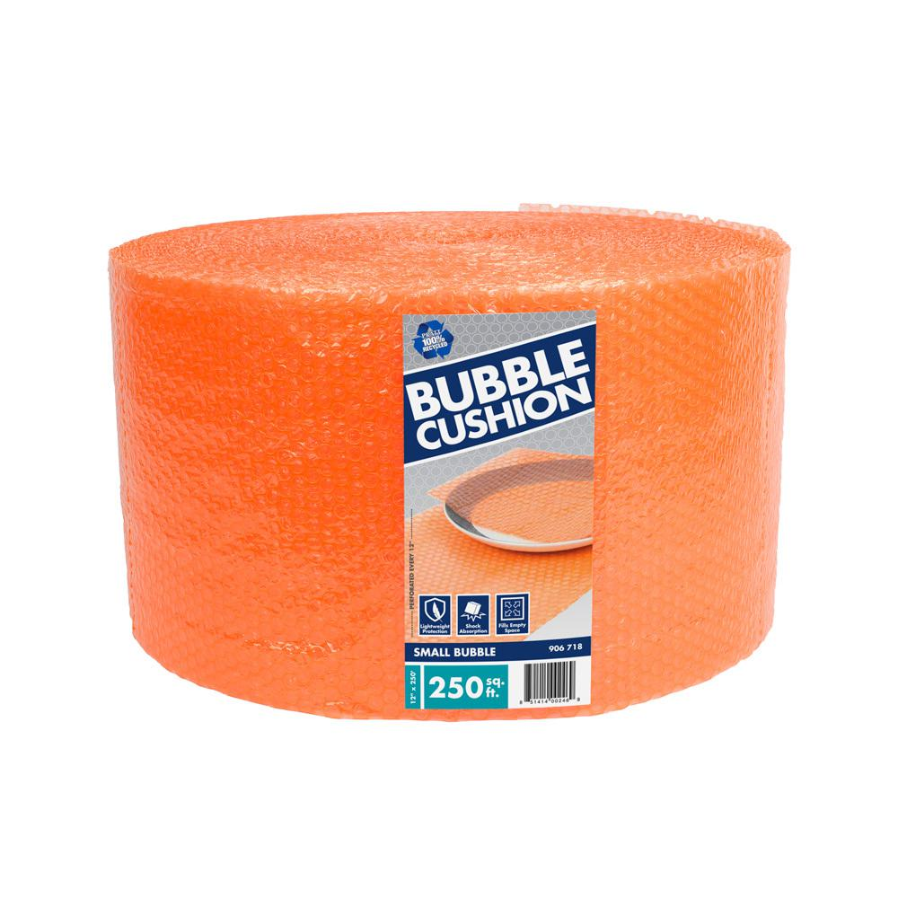 Pratt Retail Specialties 3/16 in. x 12 in. x 250 ft. Perforated Bubble Cushion Wrap
