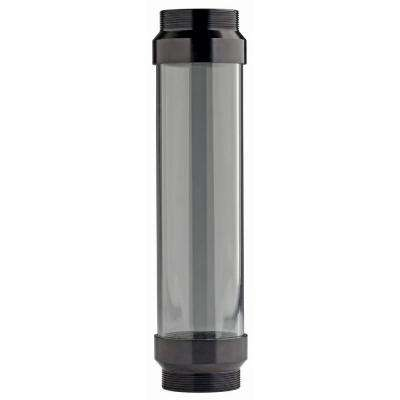 UltraView Clear Tube with Black Ends