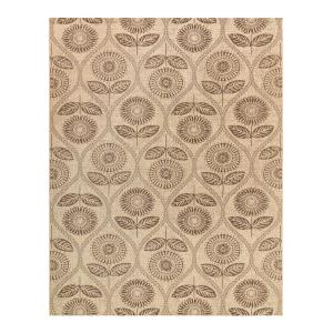 Caicos Woven Stripe Tan Light Tan 8 Ft 6 In X 13 Ft Indoor Outdoor Area Rug 819961 The Home Depot