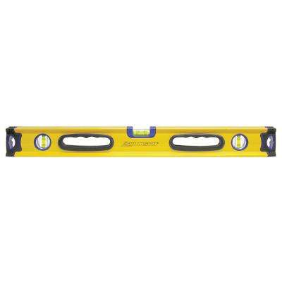 24 in. Magnetic Aluminum Box Beam Level