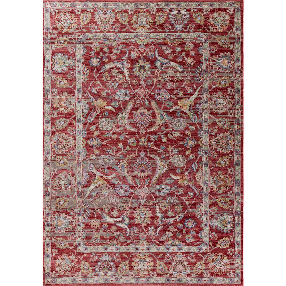 Kas Rugs Ashton Red Elegance 9 ft. x 13 ft. Area Rug was $560.0 now $308.0 (45.0% off)