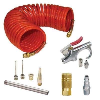 50 ft. x 1/4 in. Air Hose and Blow Gun Kit