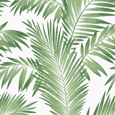 Tropical Palm Green Wallpaper