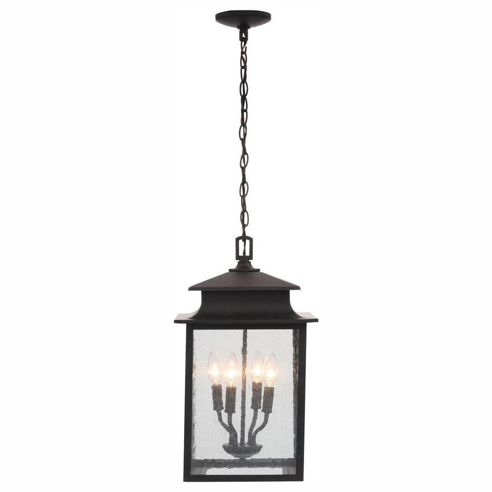 World Imports Sutton Collection 4-Light Rust Outdoor Hanging Lantern was $193.5 now $70.47 (64.0% off)
