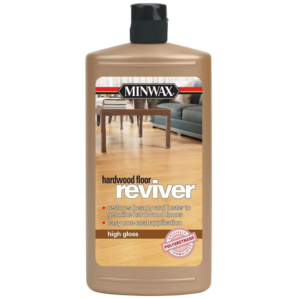 Minwax 1 Qt High Gloss Hardwood Floor Reviver 4 Pack
